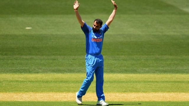 Shami picked up nine wickets against New Zealand in the five-match ODI series.