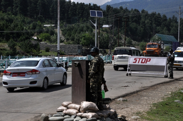 The yatra officially started from the twin tracks in Kashmir on Monday, 1 July.