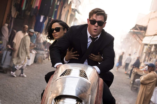 A still from <i>Men In Black: International.</i>