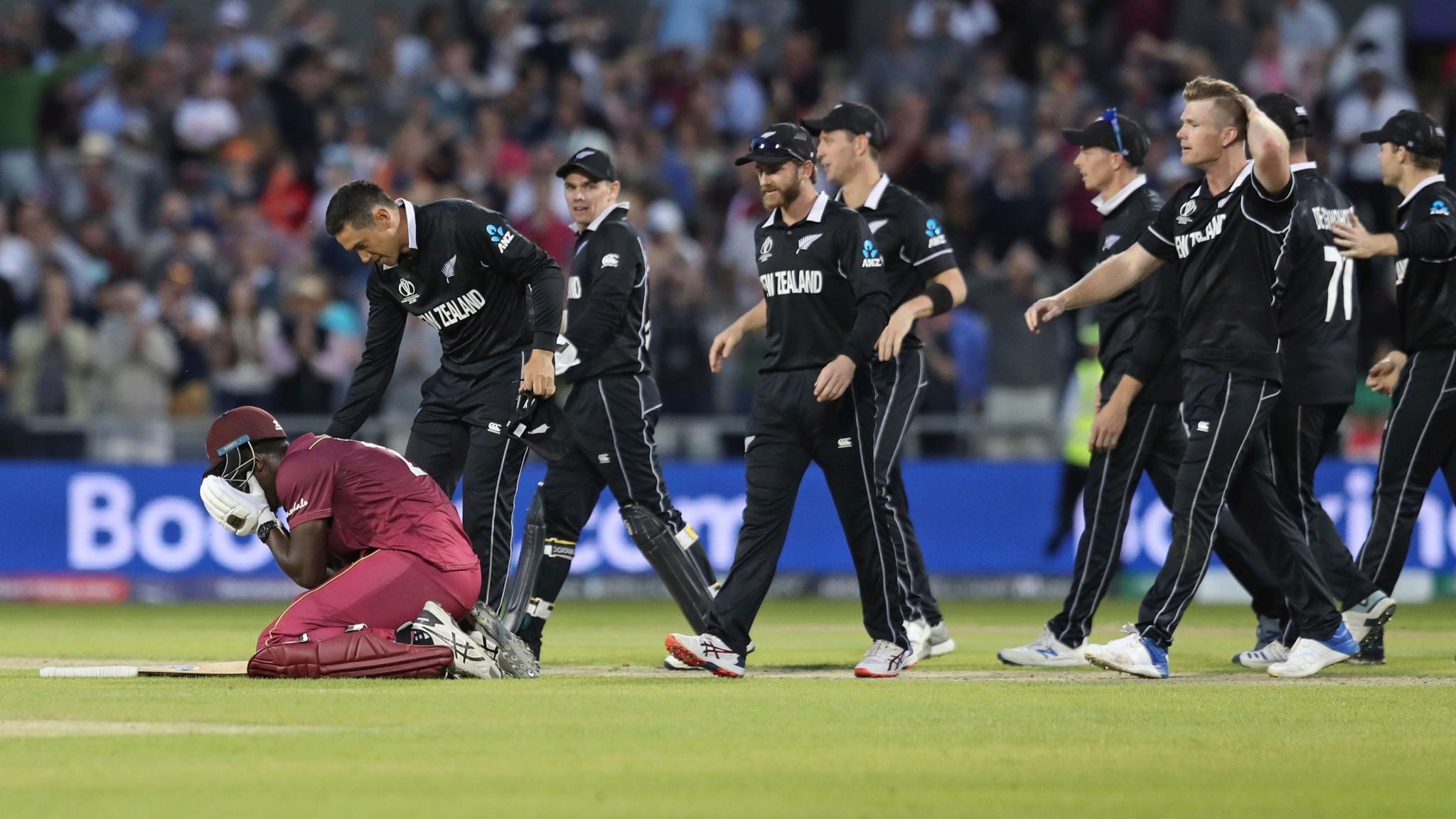 Brathwaite Scores Ton But New Zealand Sneak a 5-Run Win Over WI