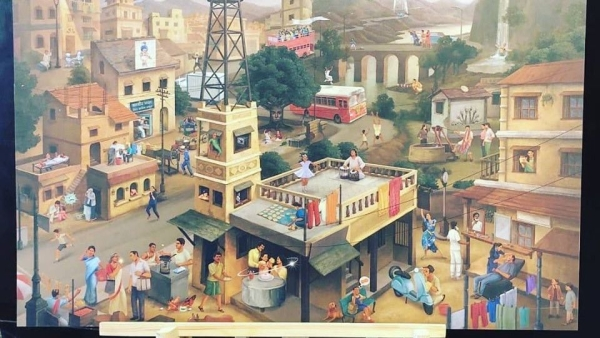 Best 40 Indian Ads Viral Painting: Can you guess all the ads mentioned in this painting?