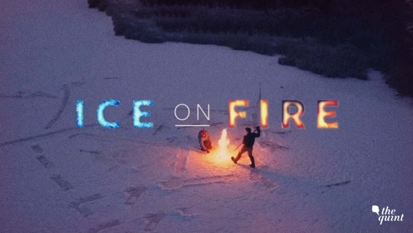 A still from 'Ice on Fire.'