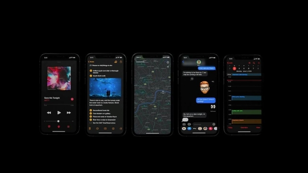 Dark mode is making its way to iOS 13 this year.