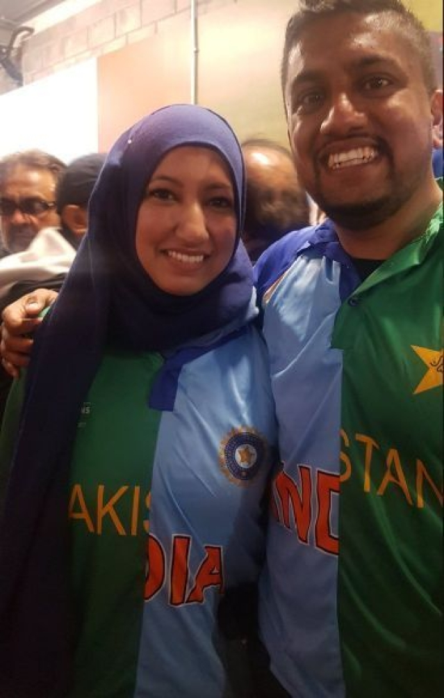 'Spirit of Game': Couple's Half India, Half Pak Jersey Wins Hearts