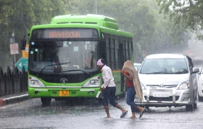 Cloudy day, rains cool down Delhi, showers likely on Tuesday too
