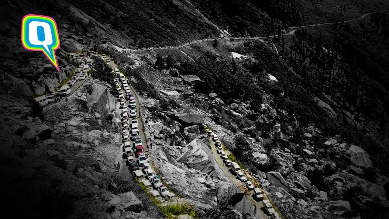 People. Are. Everywhere. Traffic in the Hills Angers Travellers