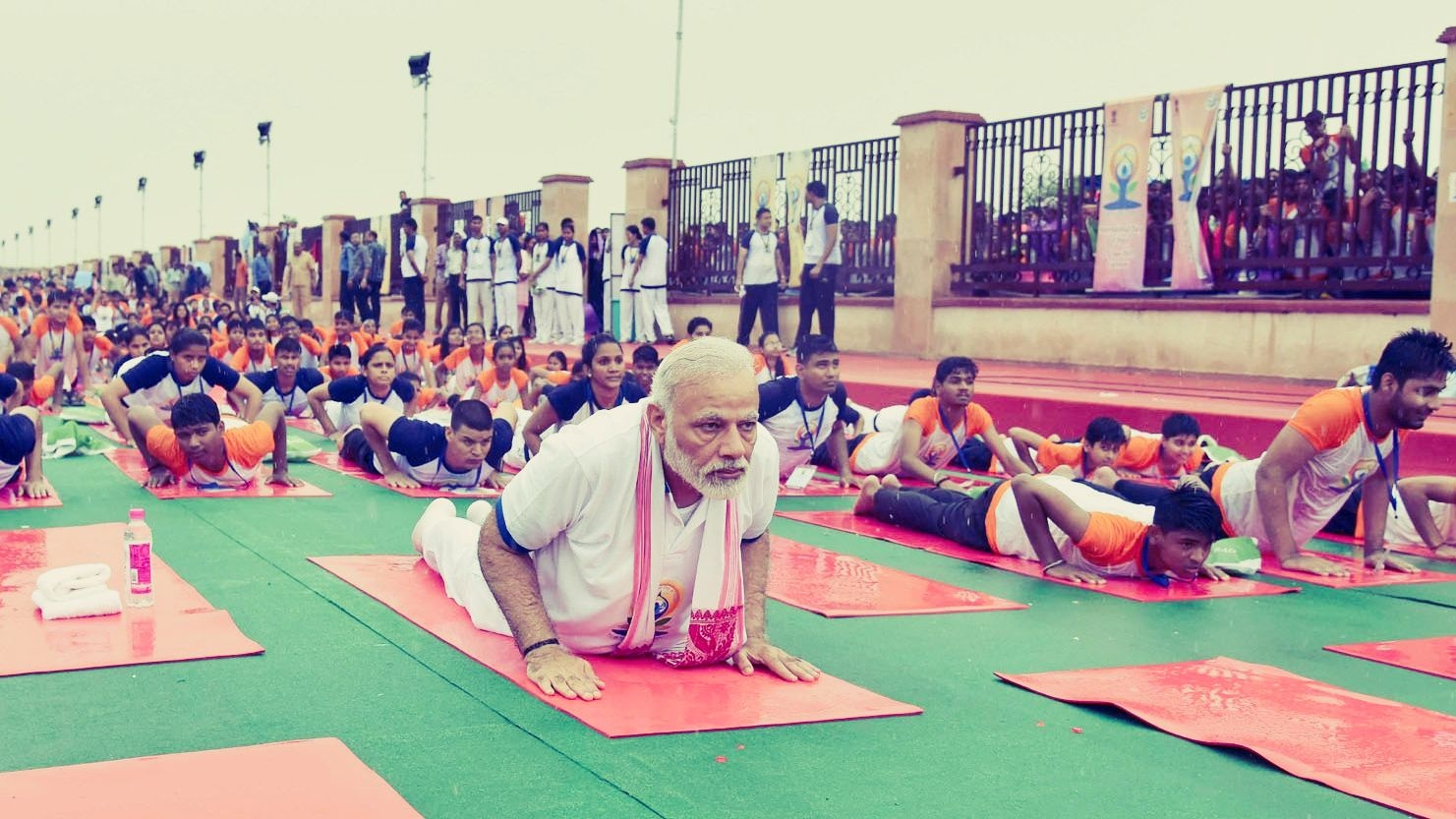 As Yoga Day Turns 5, a Look Back at PM Modi's Squats and Stretches