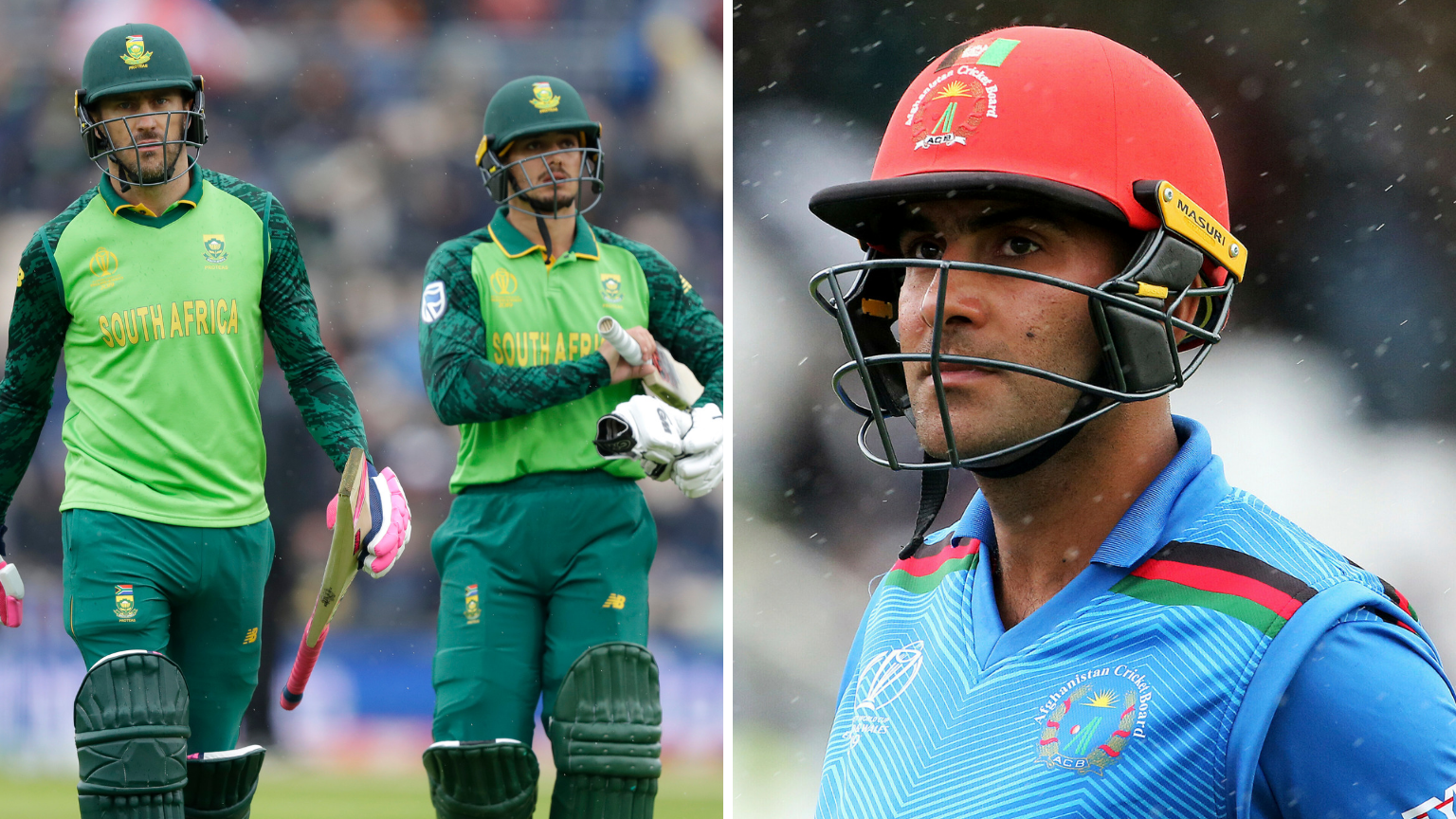 ICC World Cup 2019: South Africa, Afghanistan Look for First Win