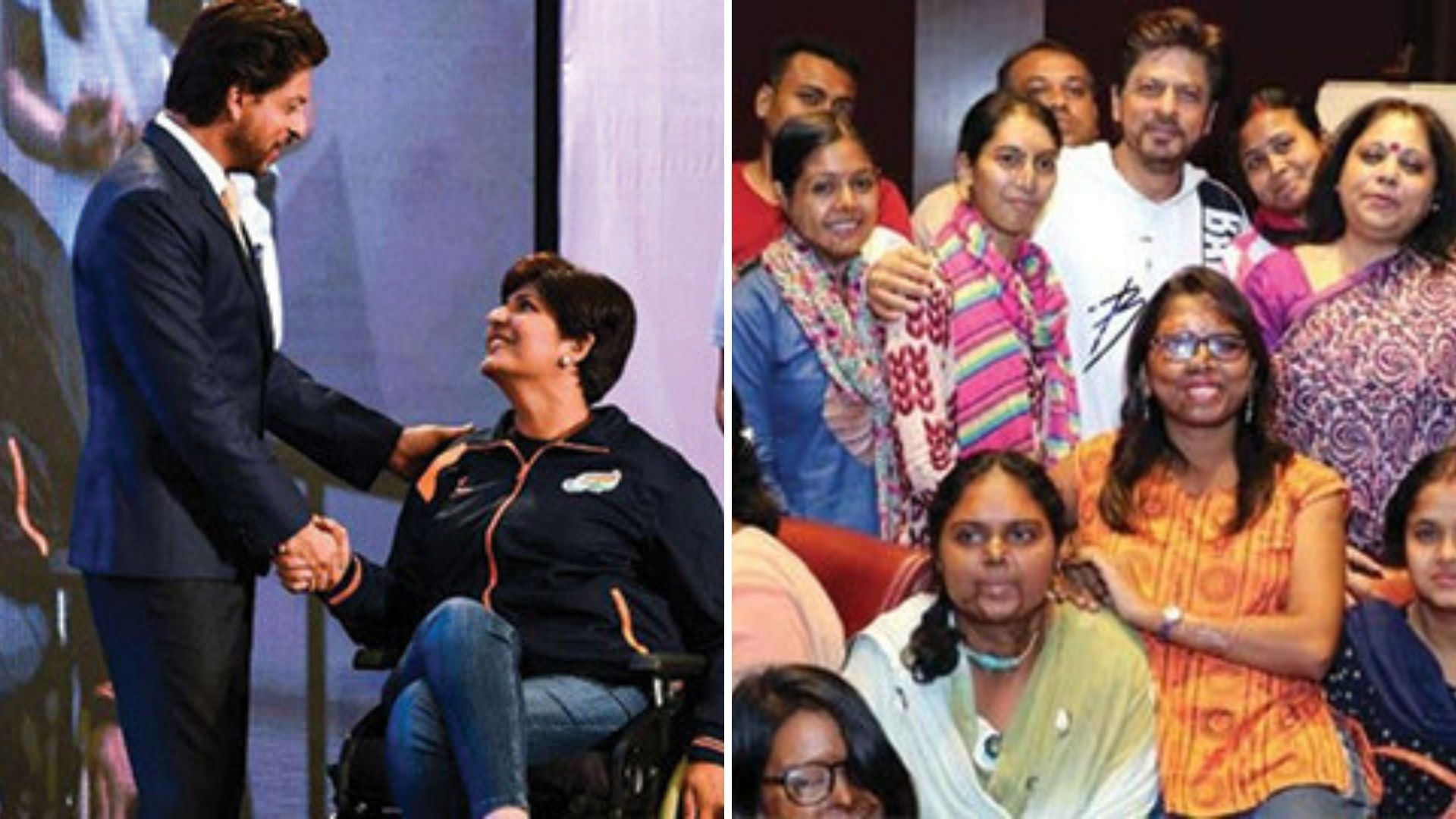 On Father's Day, SRK Launches NGO Website Named After His Father