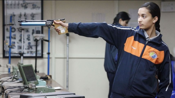 Chinki Yadav secured India's 11th Tokyo Olympic quota in shooting after qualifying for the women's 25m Pistol final at the 14th Asian Championships