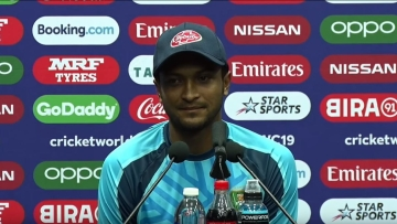 Shakib Al Hasan starred in Bangladesh's 7-wicket win over West Indies on Monday, 17 June.