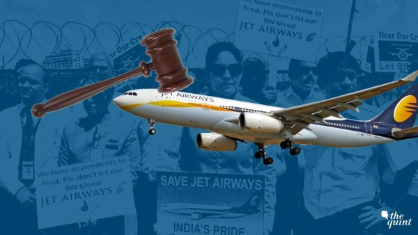 Banks are pinning their hopes on the fact that the NCLT would allow the liquidation of Jet Airways' assets.