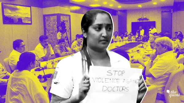 Mamata Banerjee held a meeting with junior doctors to end the week-long strike that they were on. The meeting was telecast live.