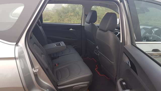 The rear has a full flat floor and reclining seats, offering good comfort.