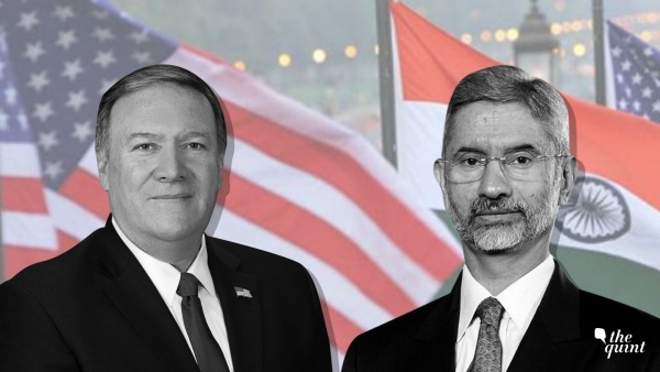 Image of Mike Pompeo (L) and S Jaishankar (R) used for representational purposes.
