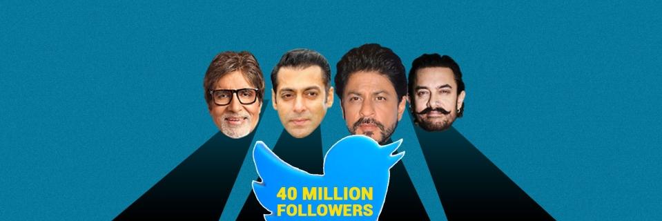 Most Followed Bollywood Celebs on Twitter: Shah Rukh Khan, Aamir