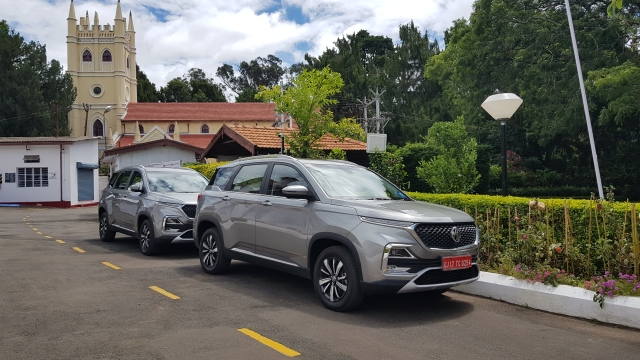 The MG Hector could be the cat among the pigeons in the five-seater SUV segment.