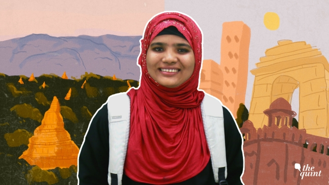 Tasmida is a Rohingya Muslim who has been living in India as a refugee since 2012. She will be the first girl from her community to enter college.