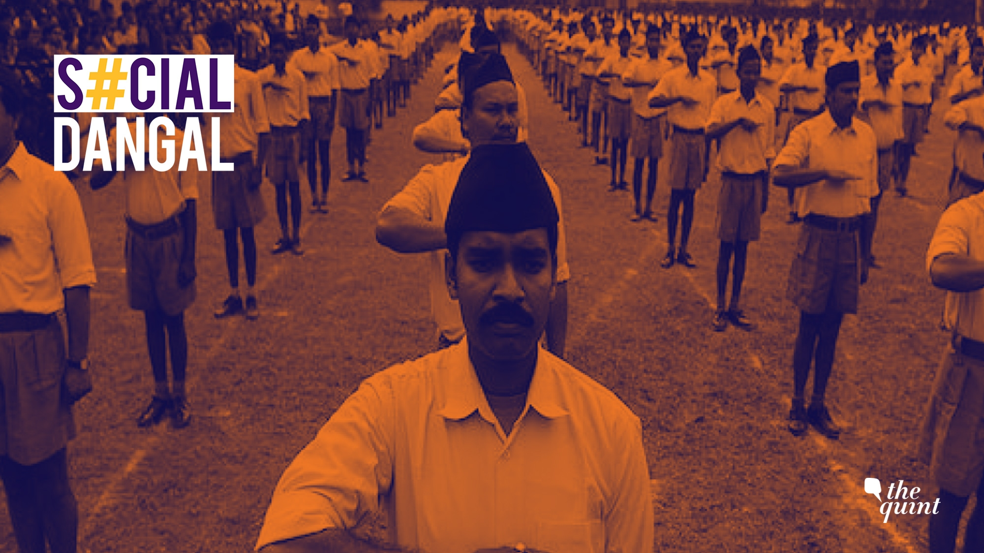 Cong Calls RSS 'Anti-India' with #RSSVsIndia, Twitterati Respond
