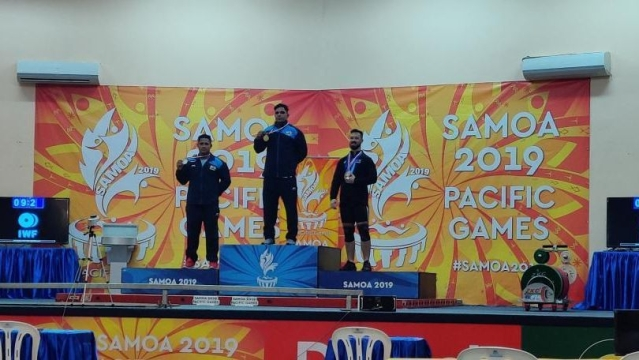 The other Indian in the 81kg category, Papul Changmai finished behind Ajay to clinch the silver medal.