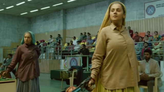 Bhumi Pednekar and Taapsee Pannu play the world's oldest sharpshooters in <i>Saand Ki Aankh.</i>