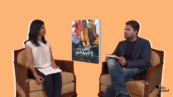 The Quint's Indira Basu (left) with author-activist Nemat Sadat (right) along with the cover of the book by Sadat (centre). Image used for representational purposes.