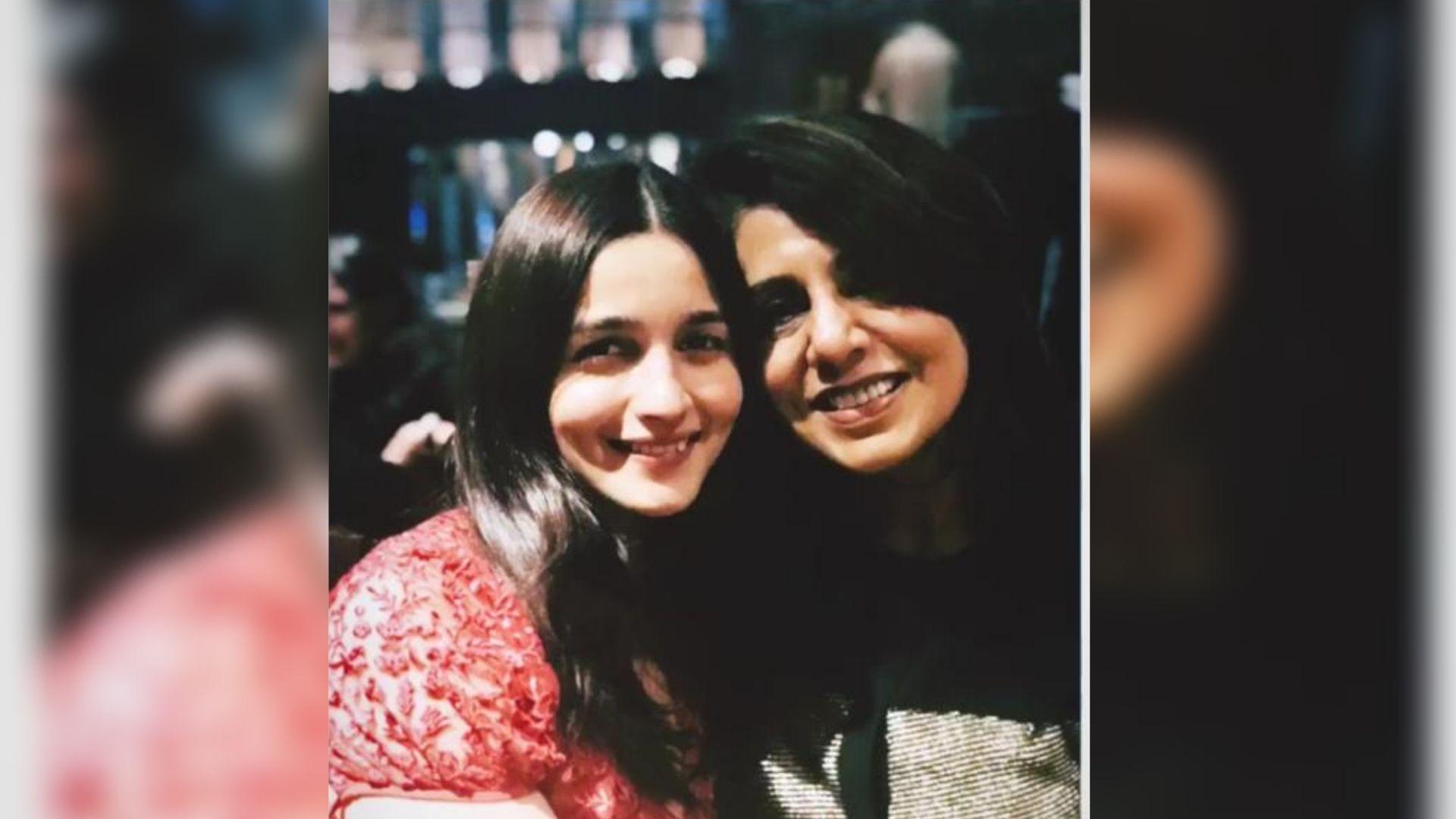 Happy Birthday to the Most Beautiful Soul: Alia to Neetu Kapoor