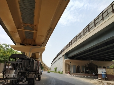 Delayed flyover to open in July, another by December