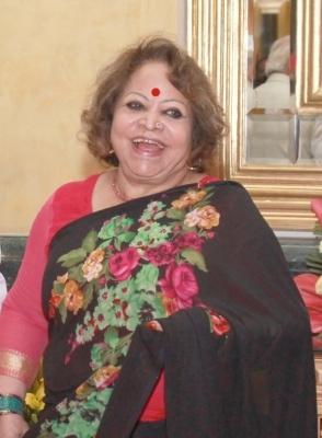 Salma Ansari to build temple in madrasa