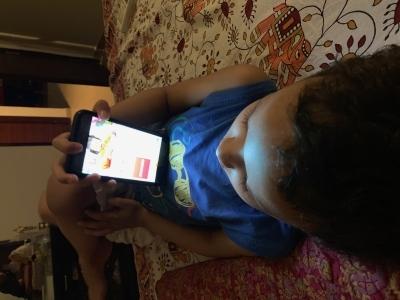 Let your kid watch TV than make lewd TikTok videos on smartphone