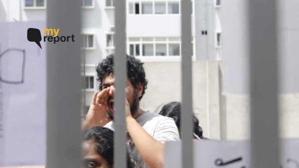 Students of TISS, Hyderabad have been on strike since Monday, 8 July.