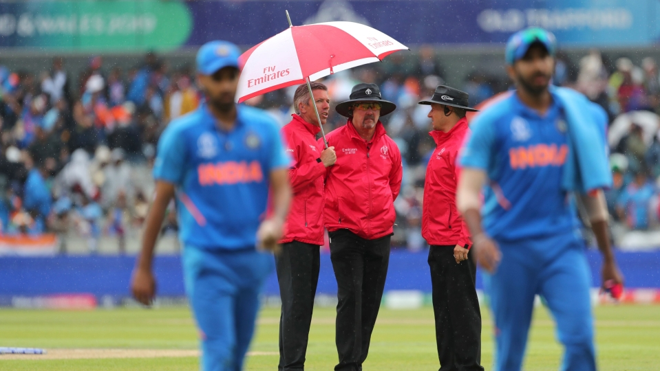 India vs New Zealand Semi Final: Play Called Off, Match