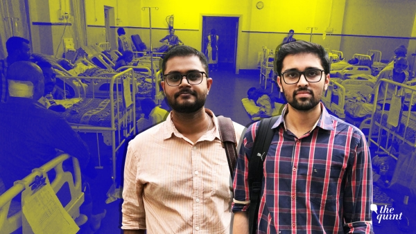 Dr Atish Parikh (Left) and Dr Shivang Shukla are resident doctors in Maharashtra.