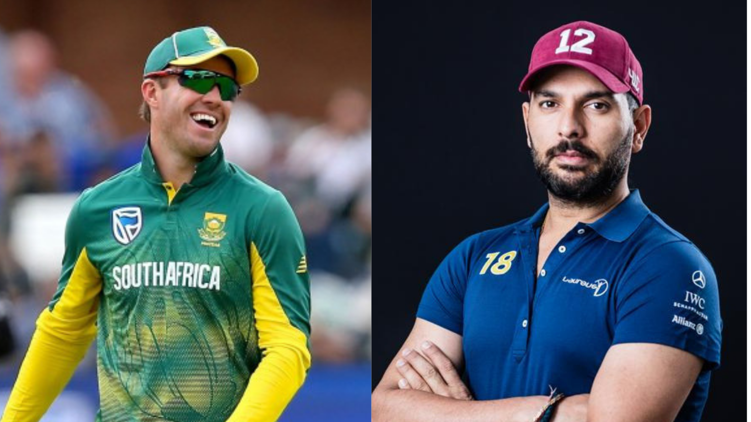 SA Didn't Have Chance to Win World Cup Without You: Yuvraj to ABD