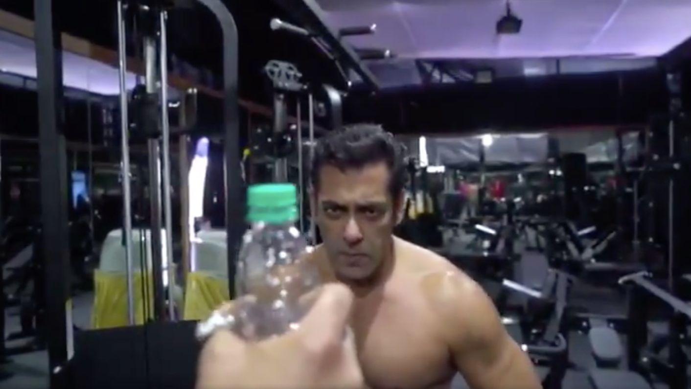 Video: Salman Khan's Bottle Cap Challenge Is a Winner
