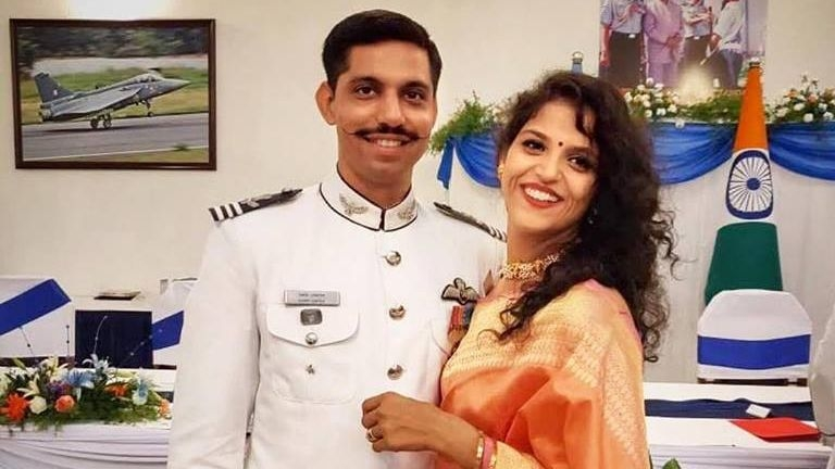 Wife of Pilot Who Died in Bengaluru Fighter Jet Crash to Join IAF
