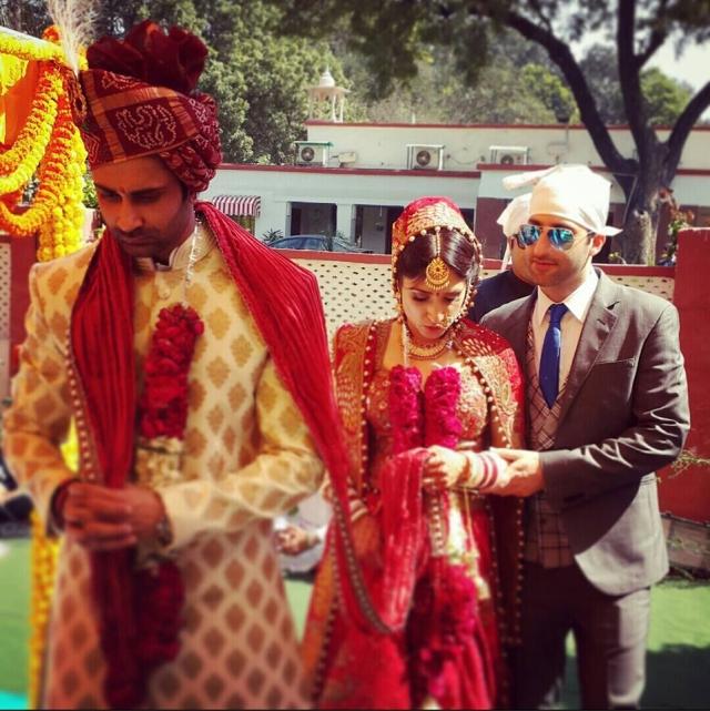 Mayank Singhvi (L), Anissia Batra (Centre) and Karan Batra (R).
