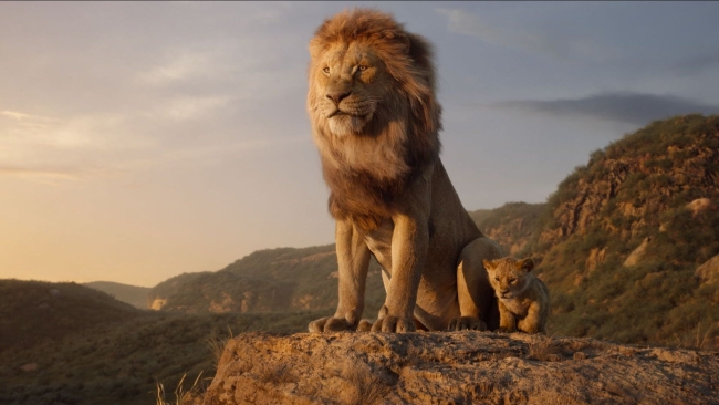 A still from <i>The Lion King</i>.