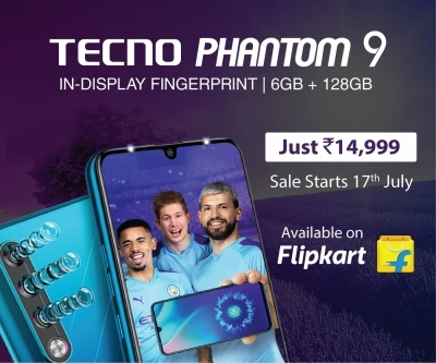 TECNO's flagship Phantom 9 debuts on Flipkart at Rs 14,999