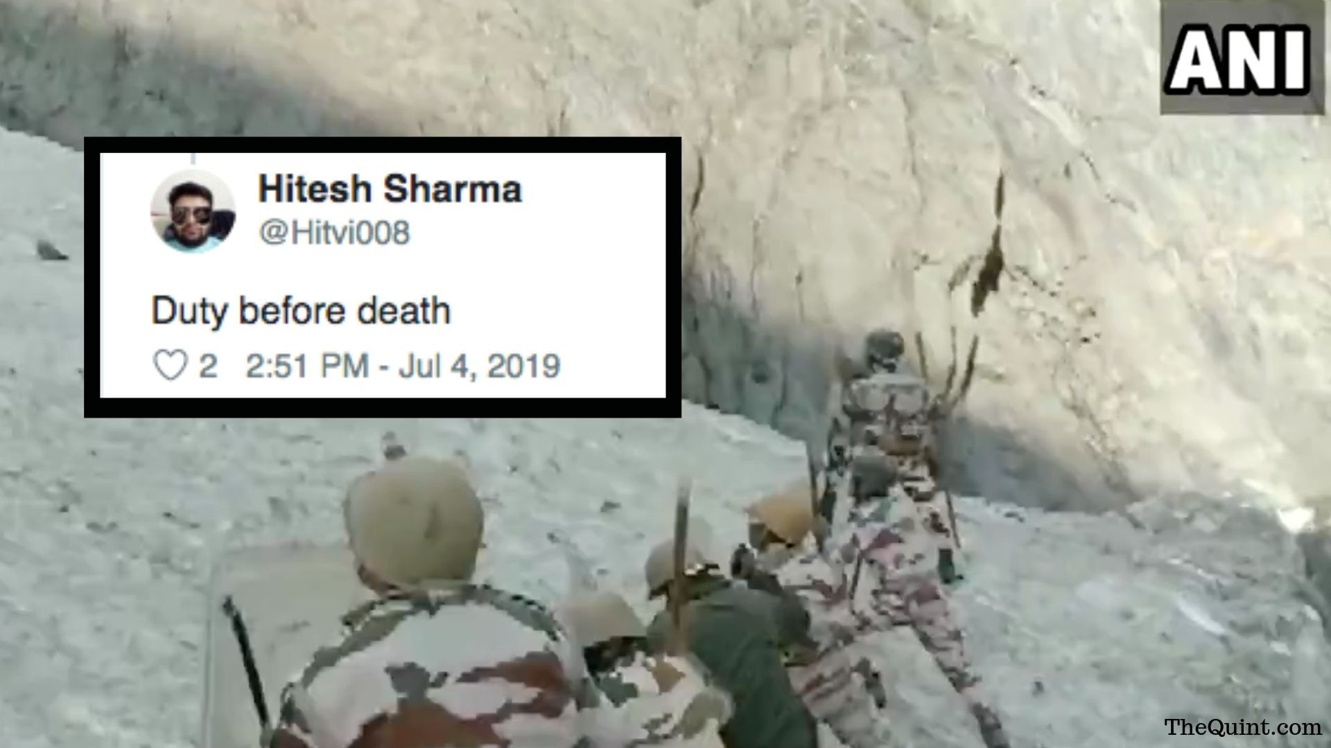 'Real Heroes': Twitter Salutes ITBP for Protecting Amarnath Yatris