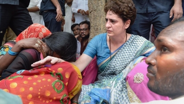 Priyanka Gandhi on Saturday said that after meeting the relatives of the Sonbhadra victims, her objective had been fulfilled.