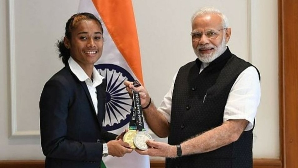 Will Work Hard & Bring More Medals for India: Hima Das to PM Modi