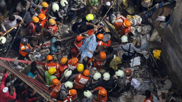 About 40 to 50 people are feared trapped under the debris of the Dongri building that collapsed on Tuesday morning.
