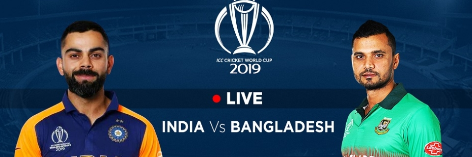 India Vs Bangladesh World Cup Where To Watch Match Online