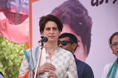 It's BJP's dictatorship: Priyanka on blacklisting NSUI VP