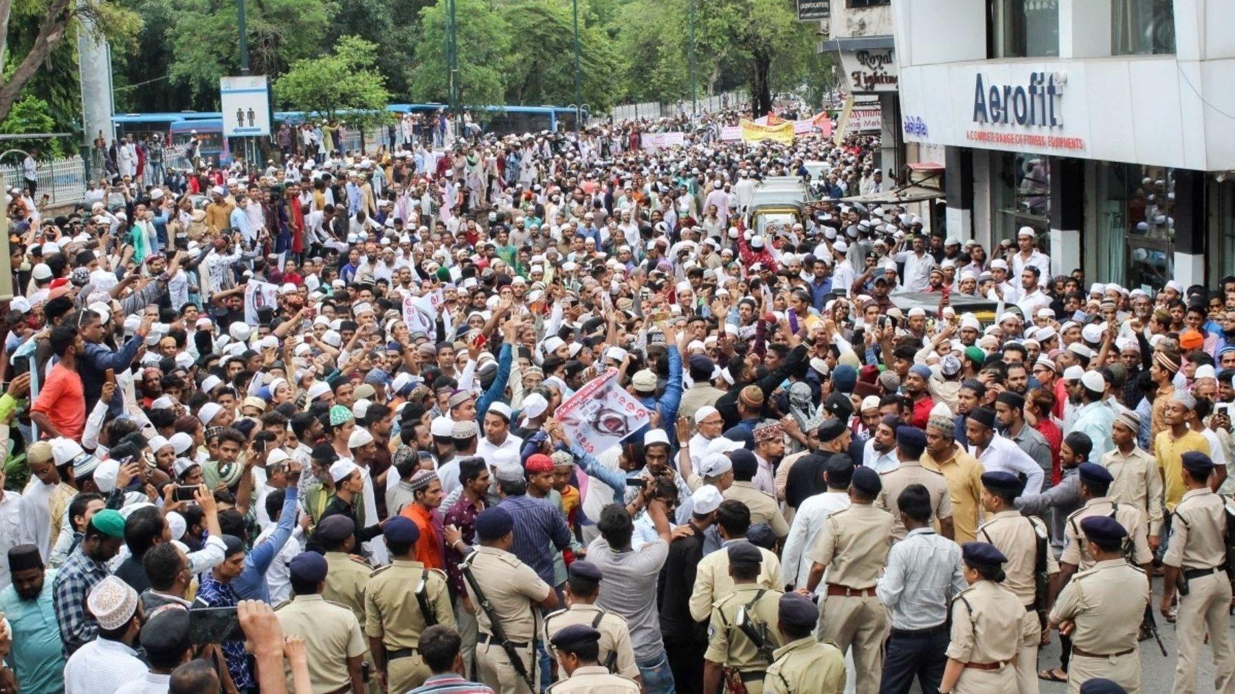 QAhmedabad: 40 Held for Rioting in Surat; Varsity Peon Clears PhD