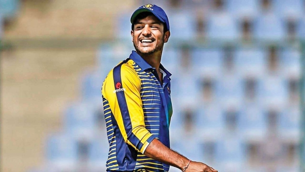 Mayank Agarwal was called in to replace all-rounder Vijay Shankar midway into the World Cup in England and Wales.