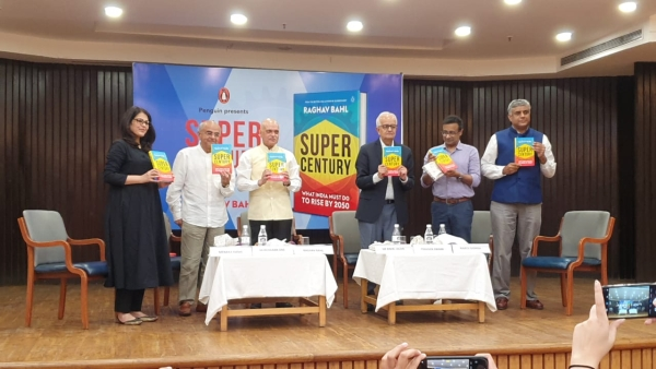 Raghav Bahl's third book, 'Super Century'.