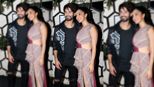 Shahid Kapoor and Kiara Advani at the success party of <i>Kabir Singh</i>.