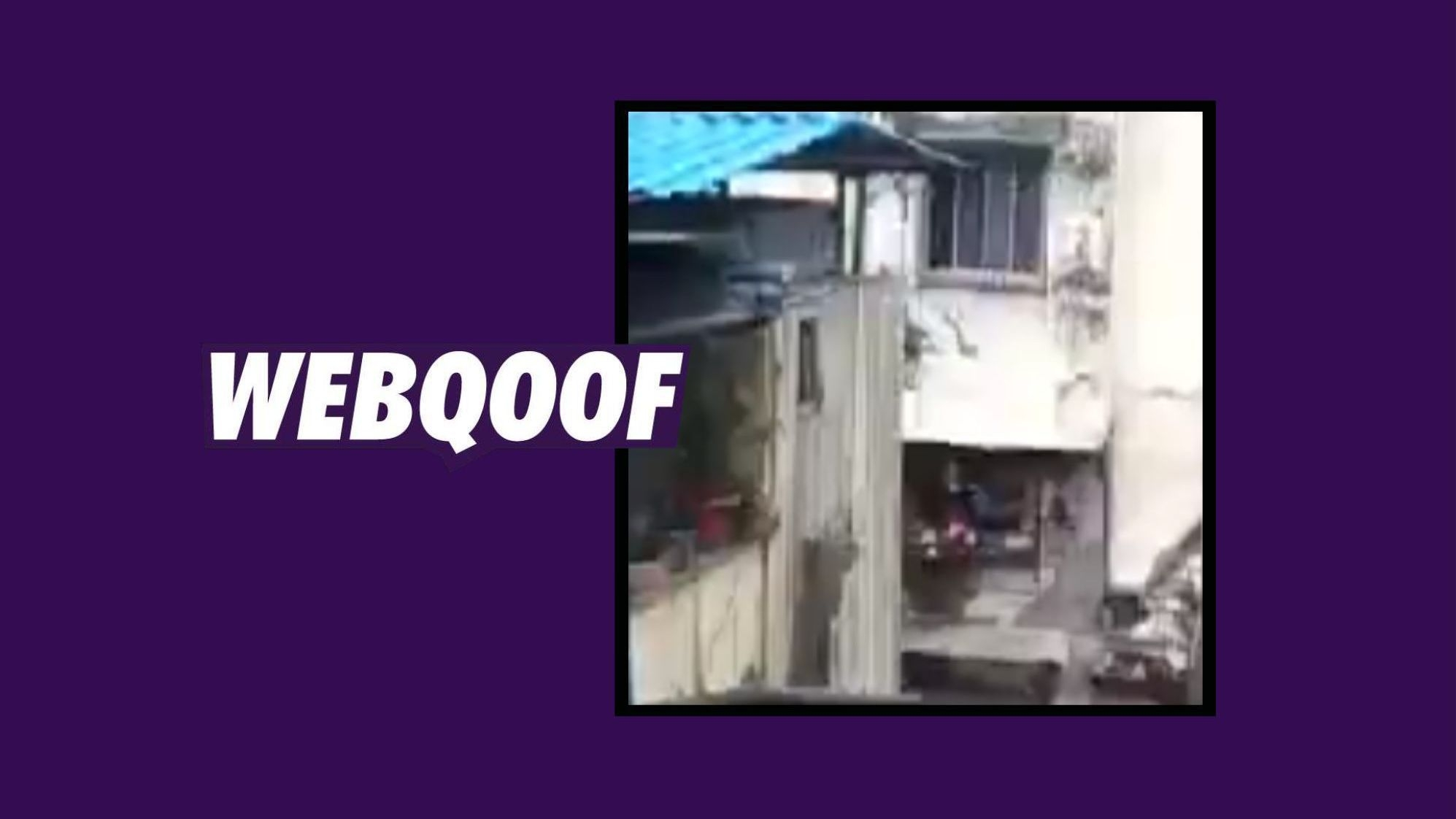2013 Video Passed Off as That of Recent Mumbai Building Collapse